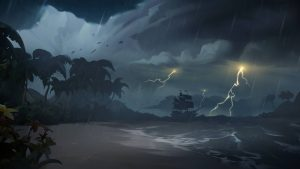 lightning Sea of Thieves