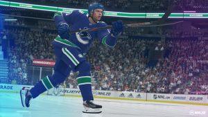 NHL 20 Pettersson Shot
