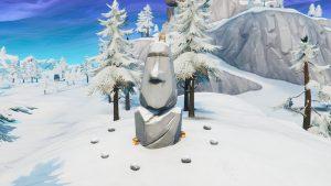 Stone Head Statue Fortnite