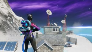 Dance at the Weather Station in Fortnite